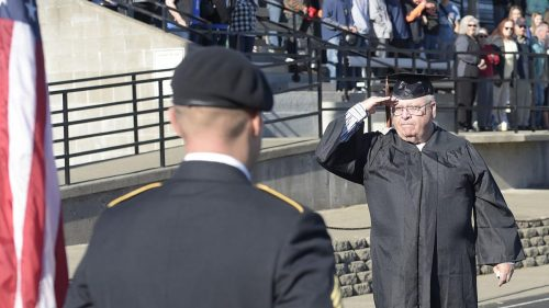 Scio man receives his diploma after 53 years